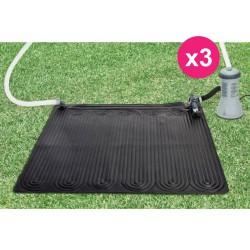 3er solar für Swimming Pool oben geschliffen Intex Teppich