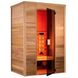 Sauna Infrarot Multiwave 130-2 Sitzer Holl die