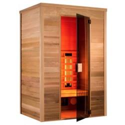 Sauna Infrarot Multiwave 150-3 Sitzer Holl die