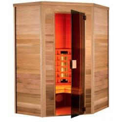 Sauna Infrarot Multiwave 130-3 Sitzer eckig Holl die