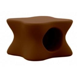 Mesa de centro de empuxo Bronze suave de Mesa