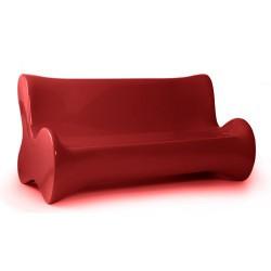 Мягкий диван диван Vondom красный