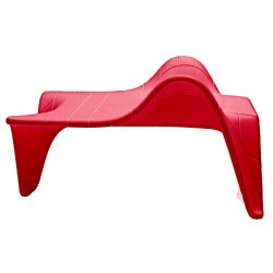 F3-Tisch niedrig Vondom rot