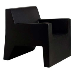 Jut Butaca armchair Vondom black