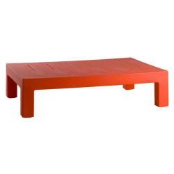 Jut Mesa 120 Tisch niedrig Vondom rot