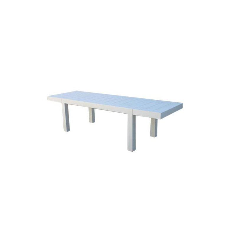 Jut vondom rettangolare mesa 280 tavolo bianco for Tavolo rettangolare bianco