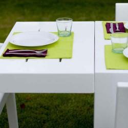 Jut Mesa 280 Tisch rechteckig Vondom weiß