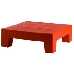 Jut Mesa 60 Tisch niedrig Vondom rot