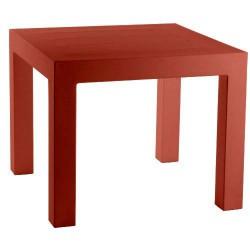 JUT Mesa 90 tabla alto Vondom rojo