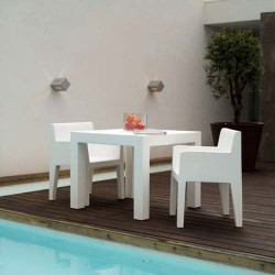 Jut Mesa 90 Table high Vondom white
