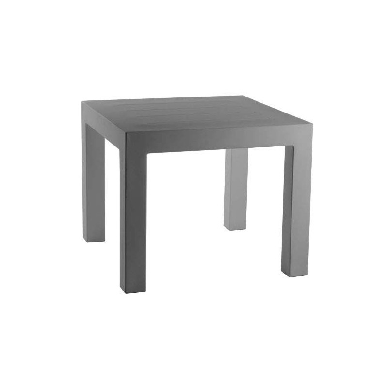 jut mesa 90 table haute vondom gris. Black Bedroom Furniture Sets. Home Design Ideas