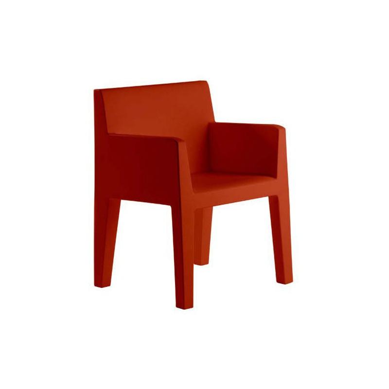 jut sillon fauteuil vondom rouge. Black Bedroom Furniture Sets. Home Design Ideas