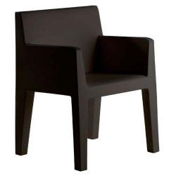 Jut sulco empuxo cadeira preta