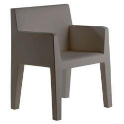 Jut sulco empuxo cadeira cinza