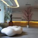 Banco lava bench Vondom white