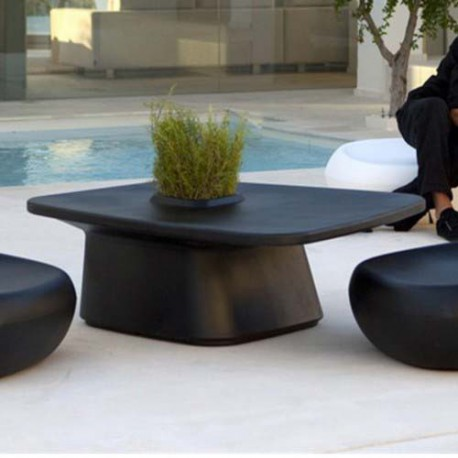 Low Table planter black Vondom MoMA