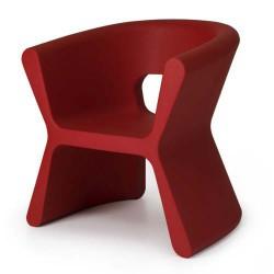 Surco PAL rojo de Vondom silla