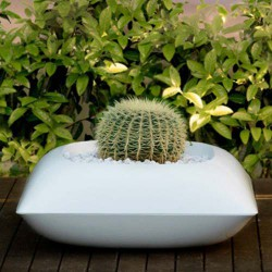 Pillow Macetero Pot Vondom white Matt