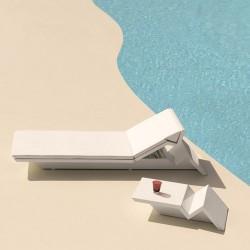 حمام الشمس فوندوم مات الأبيض بقية