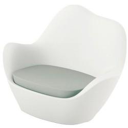 Sabinas armchair Vondom white