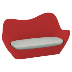 Sabinas Vondom roten Sofa