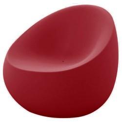 Stone armchair Vondom Red