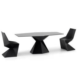 Scheitelpunkt Mesa Tabelle Vondom schwarz