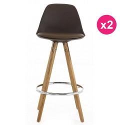 2er Set Stühle Maulwurf Basis Eiche KosyForm Werk Plan