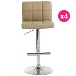 Set of 4 Mole KosyForm Bar stools