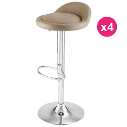 Set of 4 Mole KosyForm Bar stools