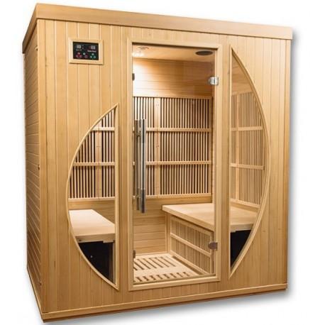 Sauna infrarouge Rowen Club 4 places - Selection VerySpas