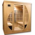 Sauna de infravermelhos Orwen clube 4 lugares VerySpas