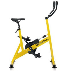 Pool AquaNess V2 gelb Fahrrad