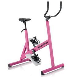 تجمع دراجة V3 أكوانيس الوردي