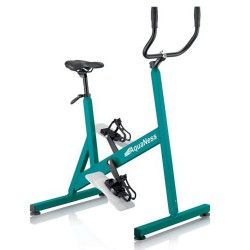 Pool AquaNess V3 grünen Fahrrad