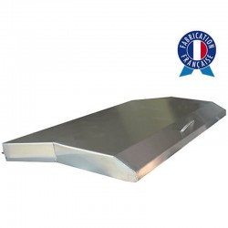 Cover all Inox for griddle gas Tonio or Baila 2 lights