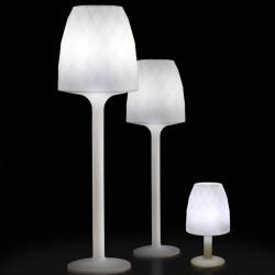Lampe Design weiße H220 Vondom Vasen