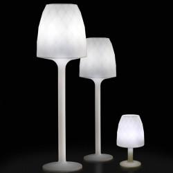 Lampe Design weiß H180 Vondom Vasen