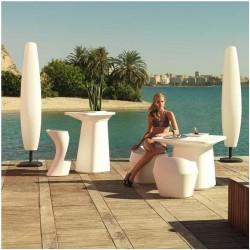 Blanca Vondom Outdoor H220 mit Akku-Lampe