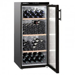 Liebher WKB3212 embeddable glass wine cellar 164 bottles