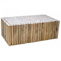 Cabaña baja KosyForm teca mesa