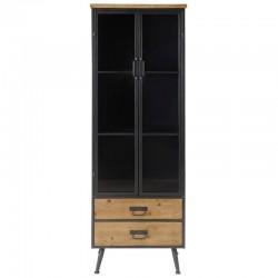 Top-Möbel in Metall schwarz und hoch KosyForm Kiefer massiv