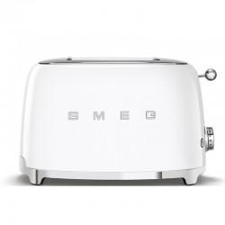 Grille-pain Smeg TSF01WHEU Toaster Blanc