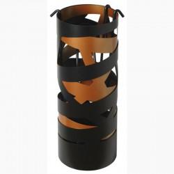 Diener Farbband Schwarz Matt Kupfer mit schwarzen Accessoires Dixneuf Design