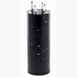 Servant way milky way black frosted white with black-white Dixneuf Design accessories