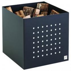 Lagerung in Holz Alto Schwarz Matt Dixneuf Design