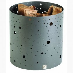 Holzlagerung sehen milchig grau Stahl-Dixneuf Design