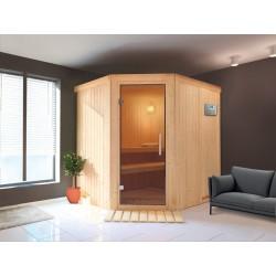 Sauna Dampf 9 kW traditionelle finnische 2-4 Orte Ulla Prestige - exklusive VerySpas