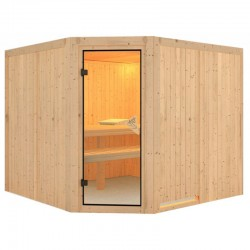 Sauna Dampf Finnen Farin 4 Plätze