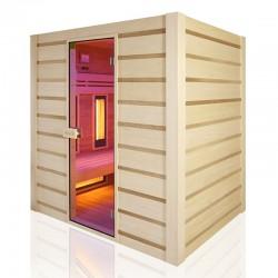 Traditionelle Sauna Combi Holl hybrid